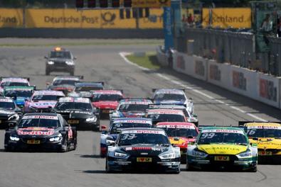 Start na Moscow Raceway   Fot. Audi Sport