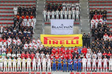 Uczestnicy Total 24 Hours of Spa | Fot. blancpain-gt-series.com
