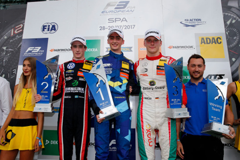 Podium w Spa | Fot. fiaf3europe.com