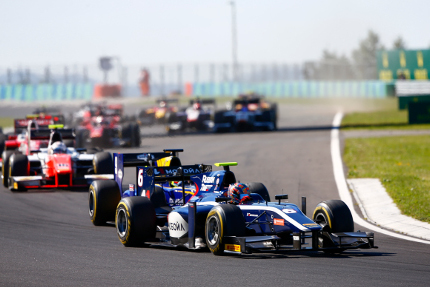 Start na Hungaroringu   Fot. FIA F2