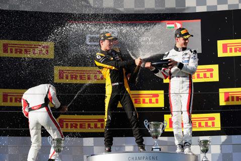 Podium na Hungaroringu   Fot. GP3