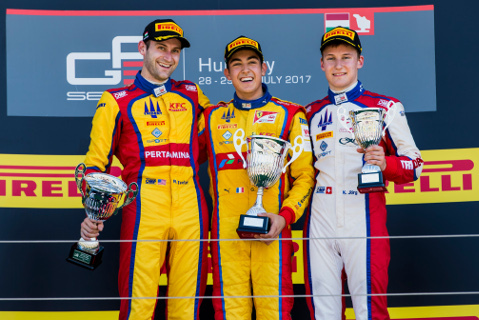 Podium na Hungaroringu | Fot. GP3
