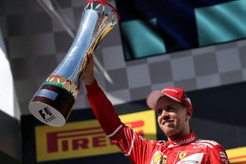 Sebastian Vettel | Fot. XPB