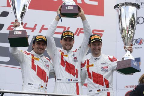 Podium Total 24 Hours of Spa | Fot. Audi Sport