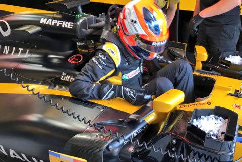 Robert Kubica   Fot. Renault