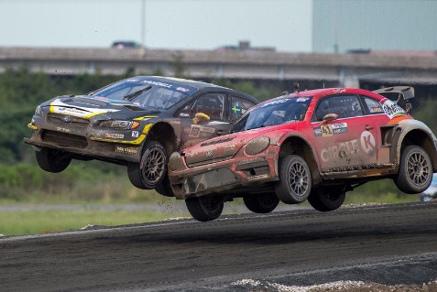 Scott Speed i Patrick Sandell | Fot. Subaru USA