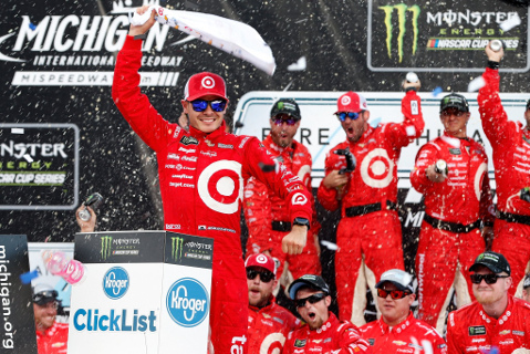Kyle Larson | Fot. NASCAR