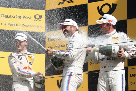 Podium w Zandvoort | Fot. BMW Motorsport