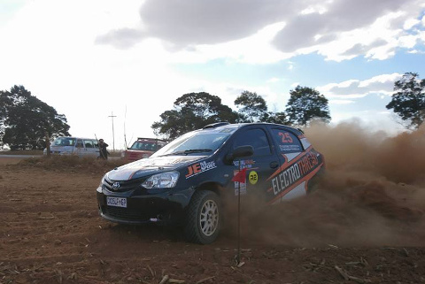 Fekken/Coetzee | Fot. SA Rallying