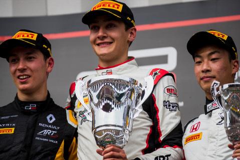Podium na Spa-Francorchamps | Fot. GP3