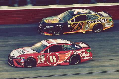 Denny Hamlin   Fot. NASCAR