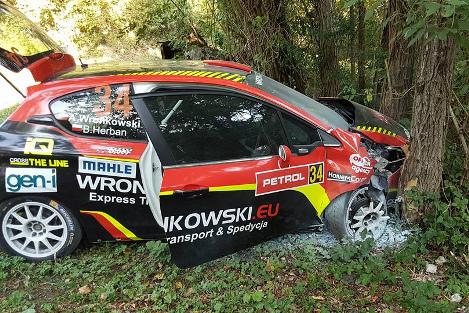 Peugeot Adriana Wronkowskiego   Fot. Facebook