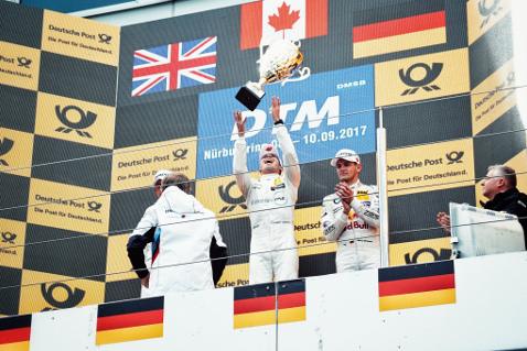 Podium na Nürburgringu | Fot. Mercedes