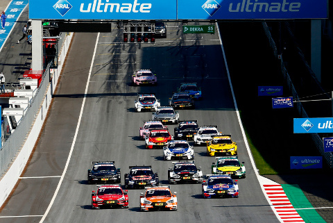 Start na Red Bull Ringu | Fot. Audi Sport
