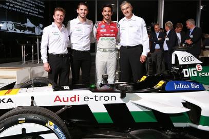 Allan McNish, Daniel Abt, Lucas Di Grassi i Dieter Gass | Fot. Audi Sport