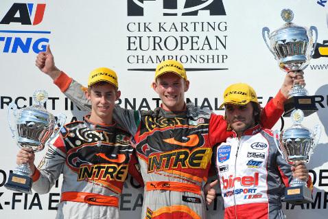 Podium KZ1 | Fot. CIK-FIA
