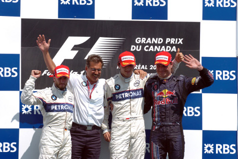 Podium GP Kanady 2008 | Fot. BMW