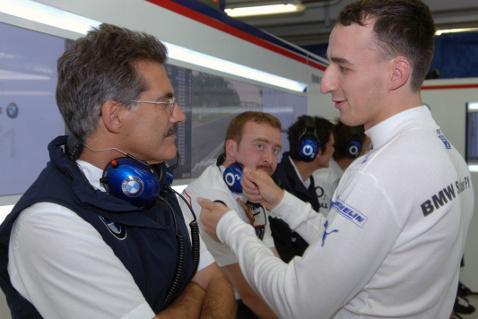 Mario Theissen i Robert Kubica, Hungaroring 2006 | Fot. BMW