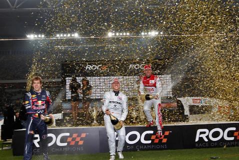 Sebastian Vettel i Michael Schumacher | Fot. raceofchampions.com