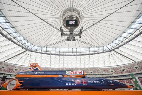 Bloodhound na Stadionie Narodowym | Fot. Castrol