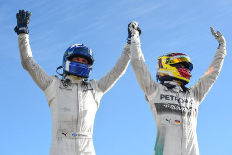 David Coulthard i Pascal Wehrlein | Fot. raceofchampions.com