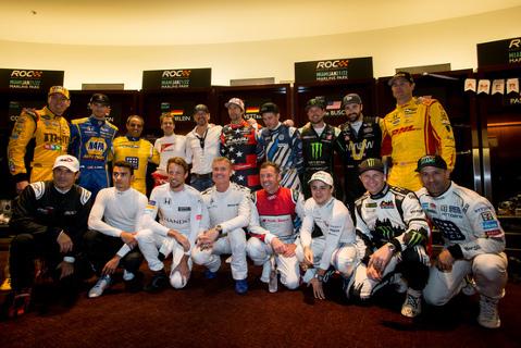 Uczestnicy ROC | Fot. raceofchampions.com