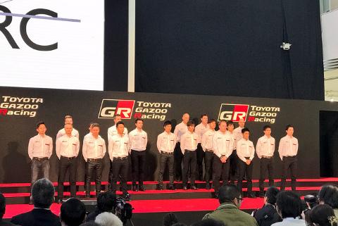 Kierowcy Toyoty w Super GT i Super Formula | Fot. TGR