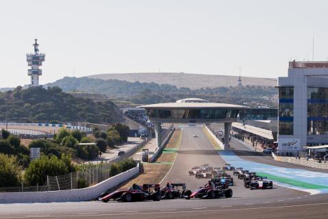Start w Jerez | Fot. GP3