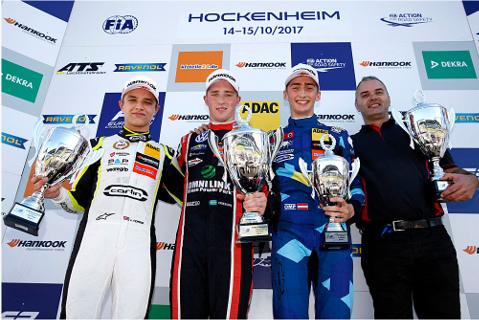 Podium w Hockenheim | Fot. fiaf3europe.com