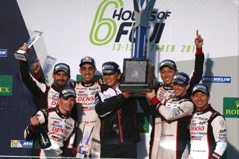 Podium 6H of Fuji   Fot. Toyota