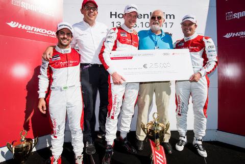 Podium Race of Legends | Fot. Audi Sport