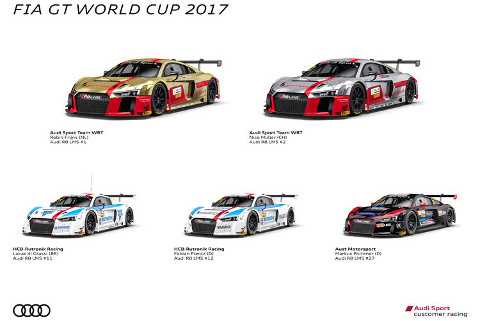 Audi na GT World Cup