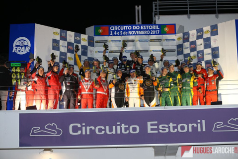 Podium w Estoril | Fot. Hugues Laroche