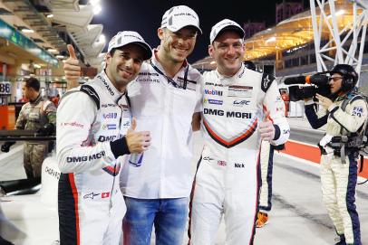 Neel Jani, André Lotterer i Nick Tandy | Fot. Porsche
