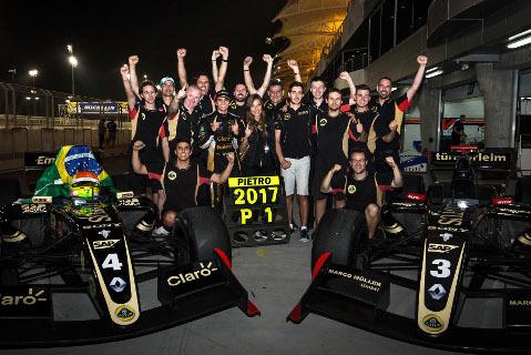 Pietro Fittipaldi i zespół Lotusa | Fot. Lotus