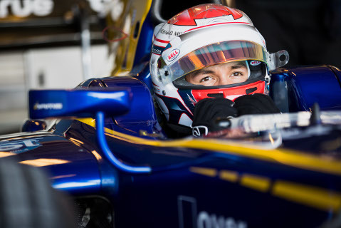 Alexander Albon   Fot. FIA F2