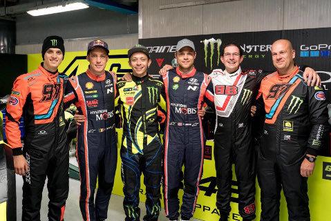 Gwiazdy Monza Rally Show | Fot. Twitter
