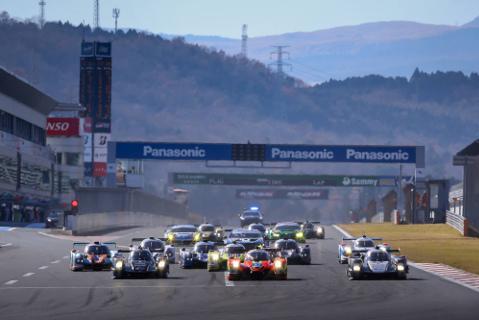 Start na Fuji Speedway | Fot. ALMS