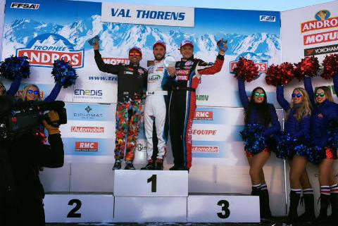 Podium w Val Thorens | Fot. Facebook
