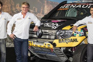 Prezentacja Renault Duster Dakar Team   Fot. Renault Sport Argentina