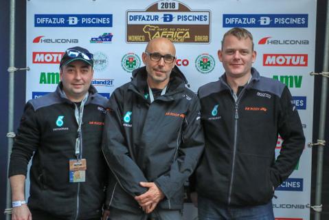 Dariusz Rodewald, Moi Torrallardona i Gerard de Rooy   Fot. Team de Rooy