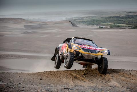 Carlos Sainz | fot. Peugeot Sport