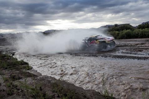 Peterhansel/Cottret   Fot. Peugeot Sport