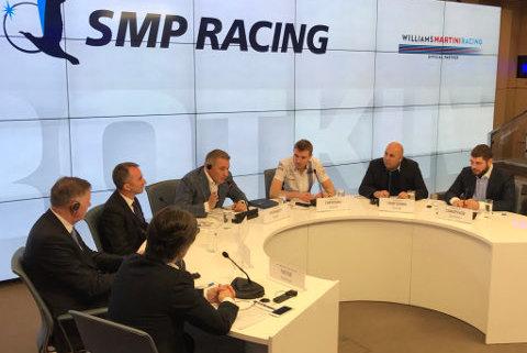 Konferencja SMP Racing   Fot. Twitter
