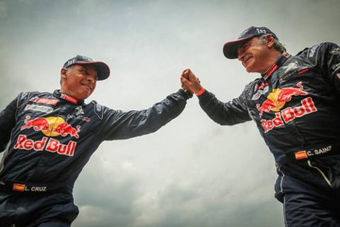 Lucas Cruz i Carlos Sainz | Fot. DPPI
