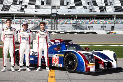 Phil Hanson, Fernando Alondo i Lando Norris | Fot. McLaren