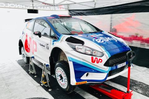 Fiesta Łukasza Habaja | Fot. Rallytechnology