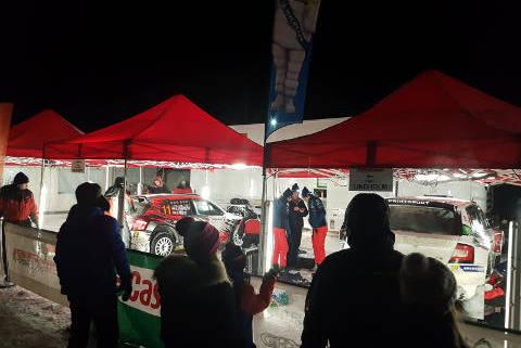 Serwis w Rovaniemi | Fot. Printsport Racing
