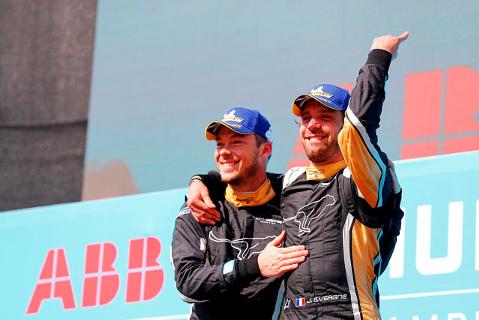André Lotterer i Jean-Éric Vergne | Fot. FIA Formula E
