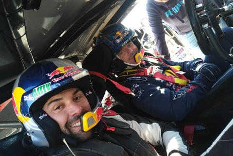 Antoine Méo i Sébastien Loeb | Fot. PH Sport